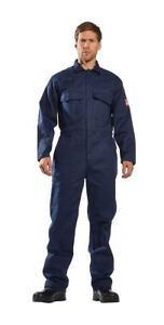 Portwest Ubiz1 Bizweld Flame Resistant Coverall To Atsm Standard Multi Colors