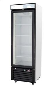Migali C 12rm Upright Reach In One 1 Glass Door Cooler Warranty