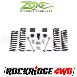 Zone 3 Suspension Lift Kit For Jeep Wrangler Jk 2007 2018 4 Door Jku No Shocks