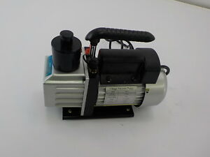 Tms 3 Cfm Single stage Rotary Vane Vacuum Pump R410a R134 Hvac Air Refrigerant