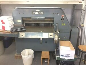 Printing Press Polar 80hy Paper Cutter 31 5 Inches