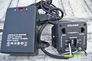 Ditek Dtk pvpip Ip poe Camera Surge Protector And Linear Power Supply