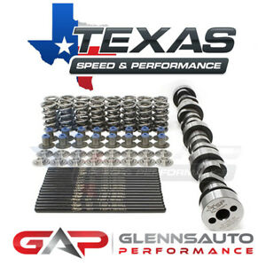 Texas Speed tsp Stage 2 High Lift Truck Cam Kit 212 218 600 600 4 8 5 3 6 0