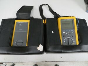 Fluke Networks Dsp 100 Cat5 Lan Cable Tester Digital Cablemeter Dsp 100 Nc65