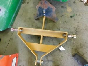 County Line 3pt Single Bottom Plow digger Tag 170