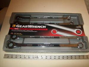Gearwrench 5 Piece Metric Xl Gearbox Combo Ratcheting Wrench Set Nos 20 25 Mm