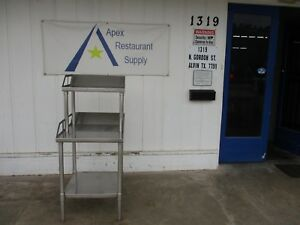 Stainless Steel Work Table prep Table equipment Stand 3621
