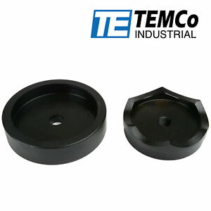Temco 4 Conduit Punch And Die For Hydraulic Knock Out Driver 3 4 16 Thread