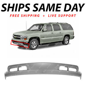 New Gray Front Bumper Lower Air Deflector For 2000 2006 Chevy Suburban Tahoe