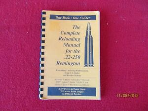 Lyman Reloading manual for the 22-250