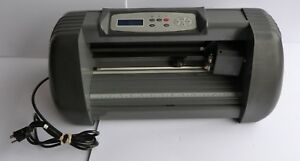 Seiki Sign Sticker Vinyl Cutter Sk 375t Cutting Plotter Machine 90 240v