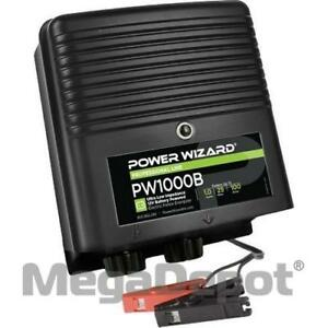 Power Wizard Pw1000b 12v Battery Electric Fence Charger