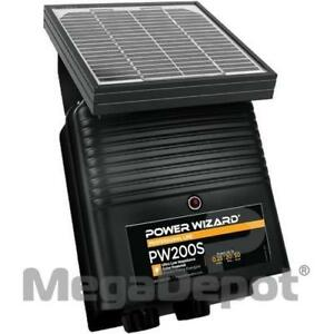 Power Wizard Pw200s 12v Solar Electric Fence Charger 0 2 Joule Output
