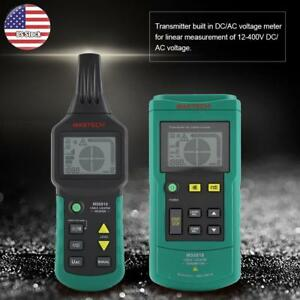 Ms6818 12v 400v Ac dc Wire Cable Locator Metal Pipe Detector Tester Line Tracker