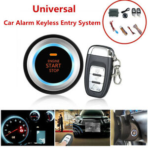Alarm System Suv Carsecurity Keyless Entry Push Button Remote Engine Start