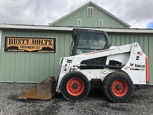 2011 Bobcat S630 Skid Steer Loader Enclosed Cab Heat ac Cheap Shipping