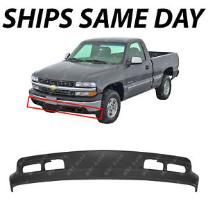 New Dark Gray Front Bumper Lower Air Deflector For 1999 2002 Chevy Silverado
