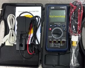 Automotive Digital Multimeter Dmm Rpm Tach Dwell Angle Pulse Width Test At 9995
