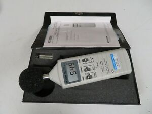 Extech 407736 Sound Level Meter In Case Light Use Condition Ne7