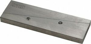 Starrett 15 16 To 1 5 16 Adjustable Parallel 3 9 16 Long X 9 32 Thick
