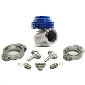 Tial Mvs 38mm Wastegate Blue With V band And Flanges All Springs