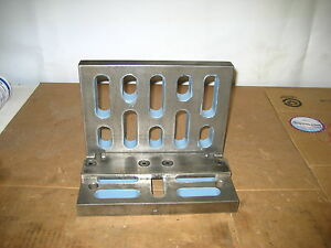 Angle Plate With Slots