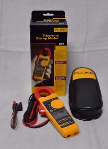 Fluke 324 True Rms Clamp Meter 4152637
