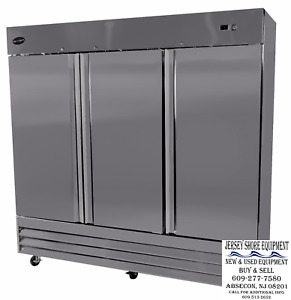 Saba S 72f Commercial Upright Freezer Stainless Steel Freezer Storage 3 Solid