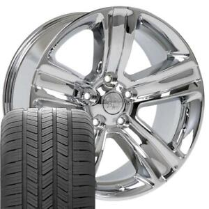 20 Rims Tires Fit Dodge Ram Chrome Wheels Gy Tires 2453