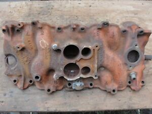 1969 70 3955287 G 3 70 Dated Intake Manifold Corvette Chevelle 402 454 300 365hp