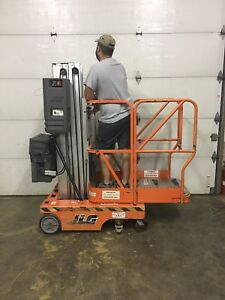 2000 Jlg 15sp 15 Electric Scissor Vertical Mast Man Lift