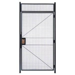 Wirecrafters Hd3712rw Rapidwire Welded Steel Wire Mesh Hinged Door With 5 High
