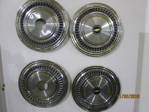 Chevrolet Chevy Pickup Truck 4 4 Hubcaps Wheel Covers Vintage Wheels Center Caps