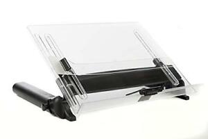 Vu Ryte Adjustable Document Copy Holder In line With Monitor Minimizing Head 14