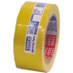 Tesa 60760 Pvc Yellow Tape 2 X 36 Yds 36 Rolls 1 Case