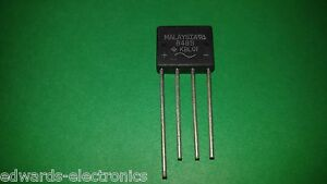 Kbl01 4a 100v Bridge Rectifier Qty 50 New Usa Shipper Free Shipping