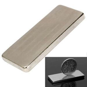 1 100pcs Super Strong Big Block Fridge Magnet Rare Earth Neodymium N50 50 20 4mm