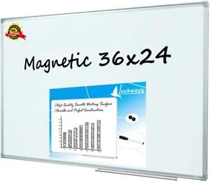 Magnetic Whiteboard white Board 1 Dry Erase Markers 2 Magnets For School Hom