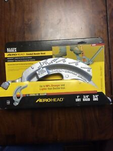 New Klein 1 Emt And 3 4 Rigid Electrical Metal Conduit Bender Head Only 1h