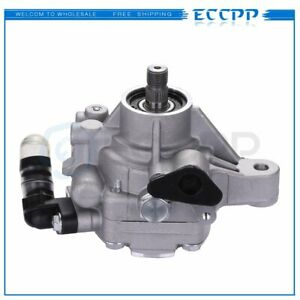 Power Steering Pump For 02 11 Honda Accord Cr v Acura Tsx Rsx 2 0l 2 4l 21 5419