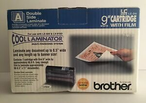 Brother Lc d9 Cool Laminator Refill Cartridge Roll 9 Wide Double Side Brand New