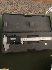 6 Inch 0 150mm 0 01mm Digital Caliper Stainless Steel Electronic Vernier Guage