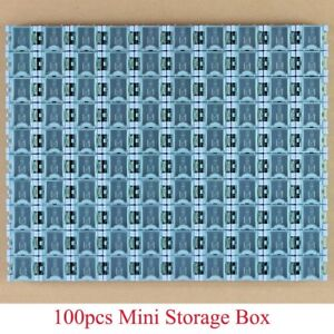 100pcs New High Quality Smd Smt Component Container Storage Boxes Electronic