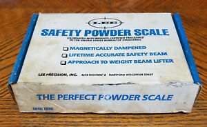 LEE Vintage Safety Powder Scale in Original Box