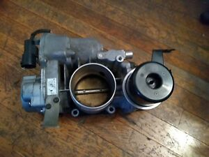 1998 Jaguar Xjr Xkr Supercharged Throttle Body Assembly missing Tps Sensor