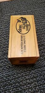 Winchester Super X 22 Long Rifle Limited Edition Wooden Ammo Box 500 Cartridges