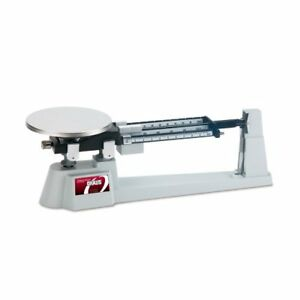 Ohaus Specialty Mechanical Triple Beam Balance With Stainless Steel Plate 610g