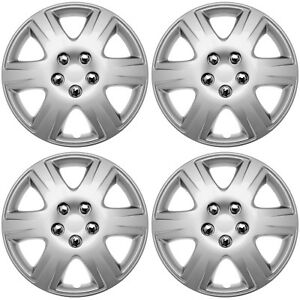4pc Fits Toyota Corolla 15 Inch Wheel Covers Hub Caps Steel Clips Best Fit