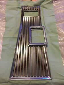 1962 Ford Galaxie Xl 4 Speed Console Shift Plate Re Chromed Mercury 1963 1964