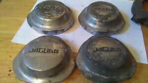 Jaguar Xke Used Set Of Four Original Wire Wheel Nuts